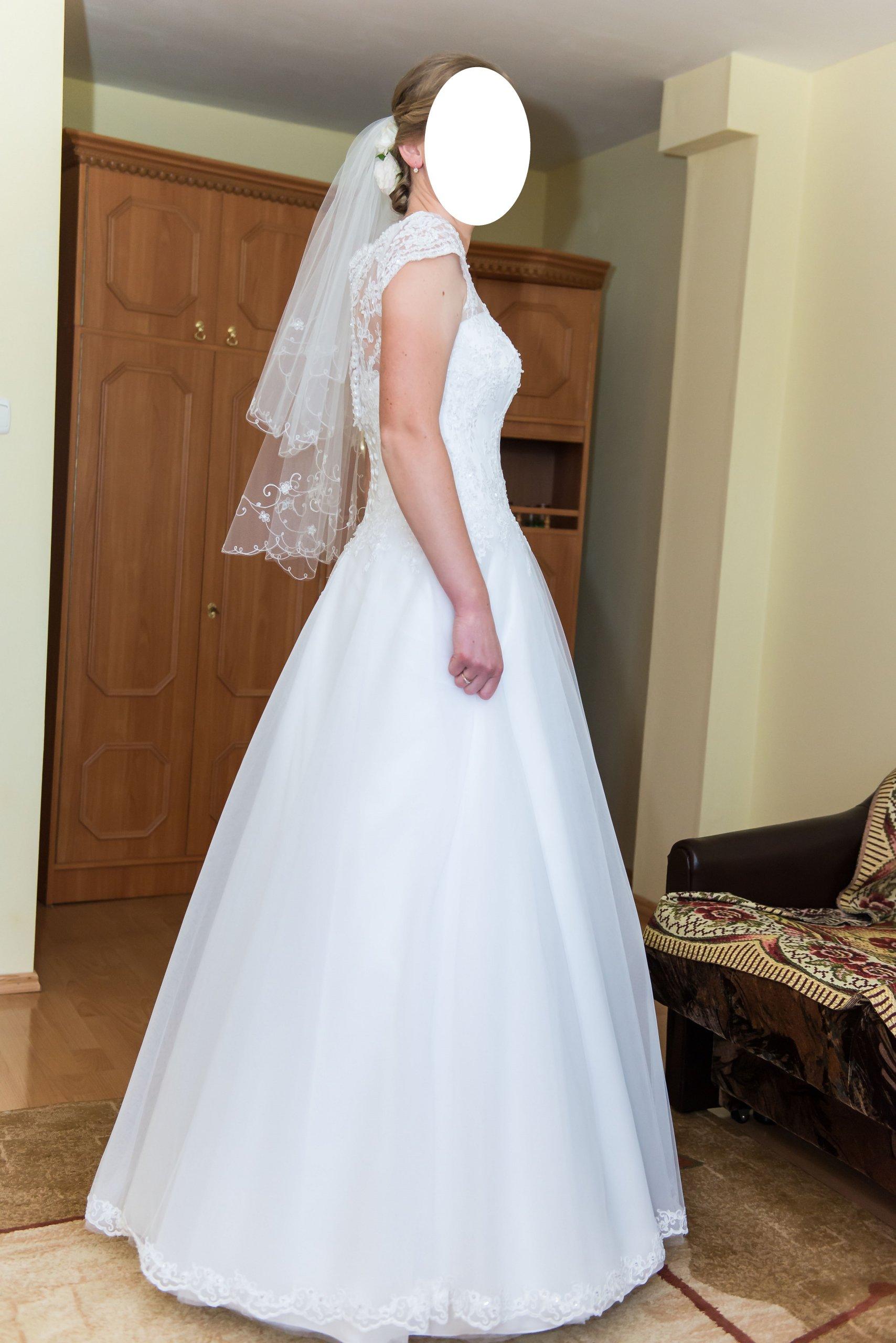 Suknia ślubna Impresja 7098265515 Oficjalne Archiwum Allegro