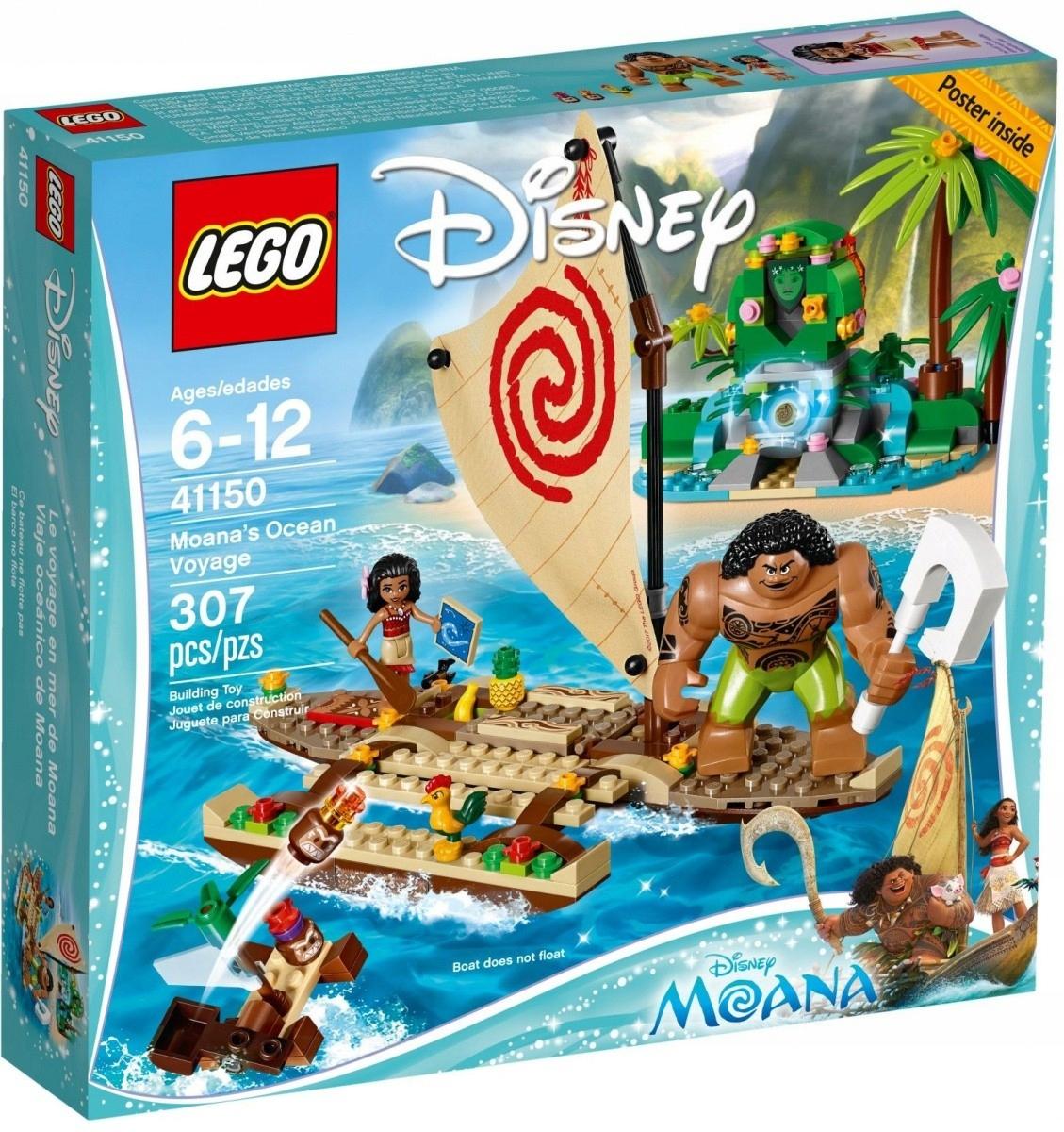 LEGO Polska Disney Oceaniczna podróż Vaiany