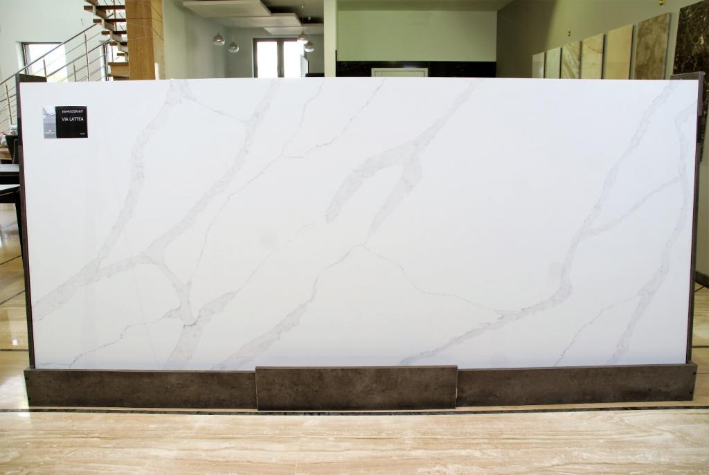Bardzo dobryFantastyczny Blat kamienny Biały Calacatta Via Lattea Granit - 7350481648 DV89