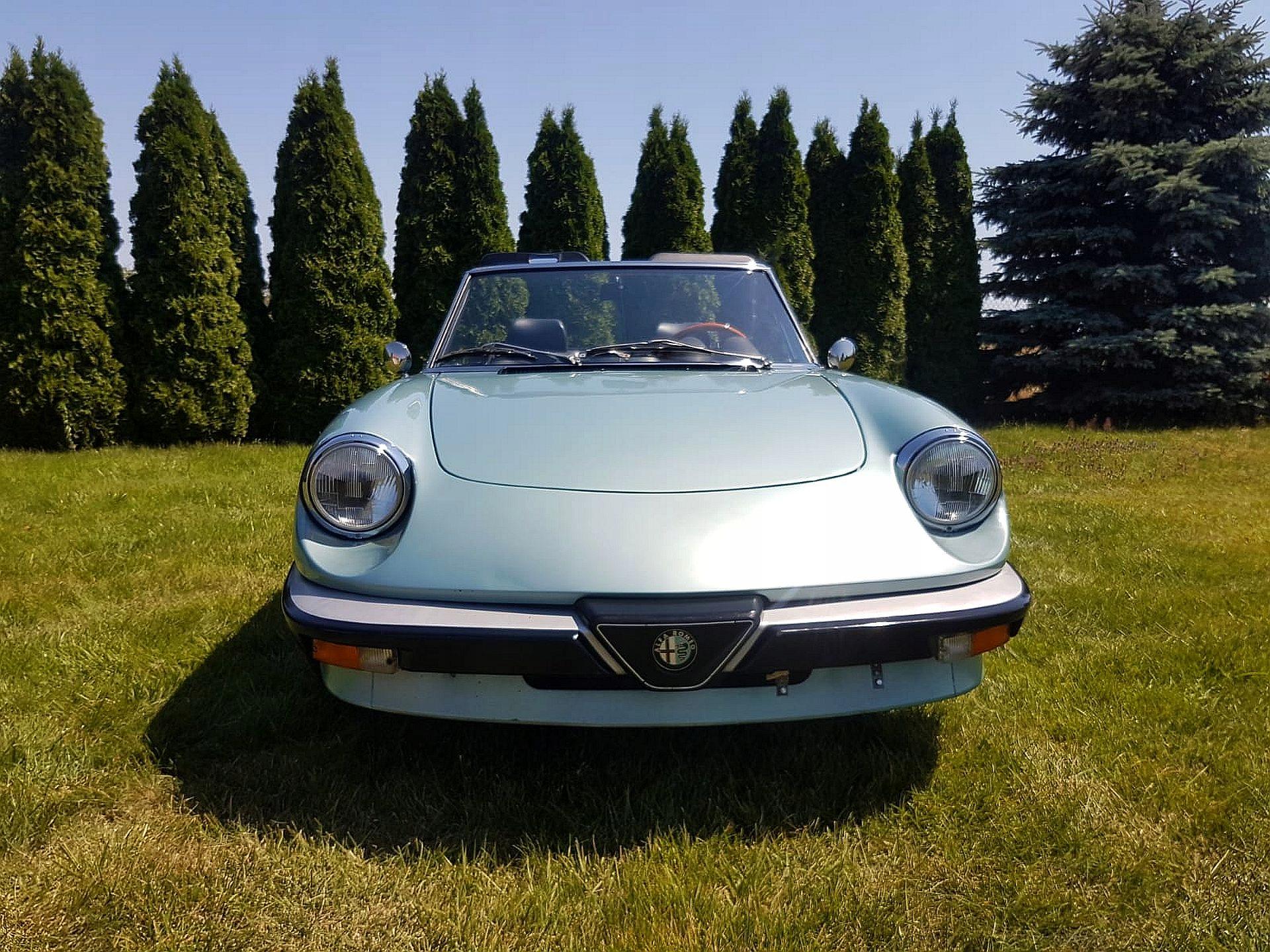 Alfa Romeo Spider 1.6 europa, kolekcjonerska