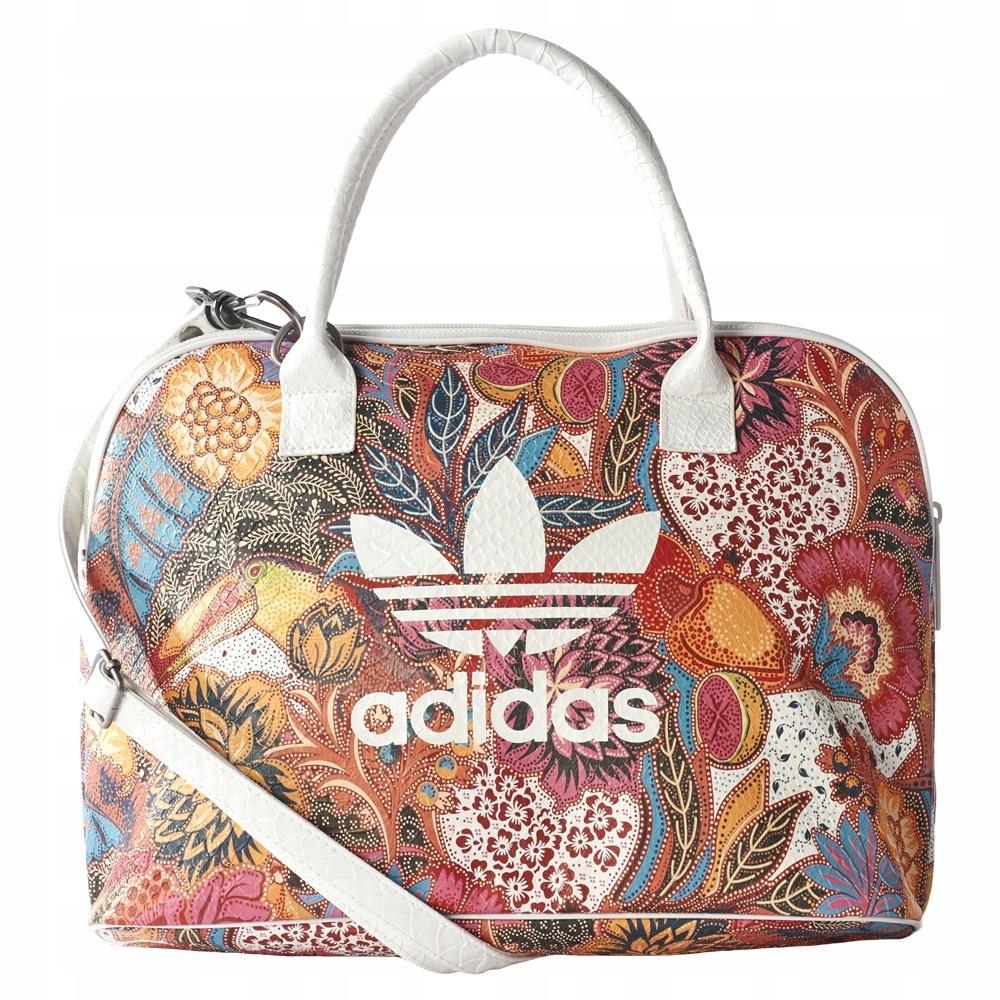 1babfd2bc8ea0 Torebka Adidas Bowling Bag w kwiaty - 7512977934 - oficjalne ...