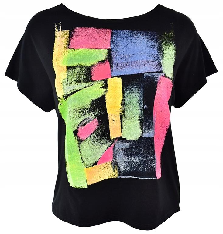 e8ef6d61aa NOWA bluzka z graficznym printem GRAFFITI 44 - 7564090107 ...