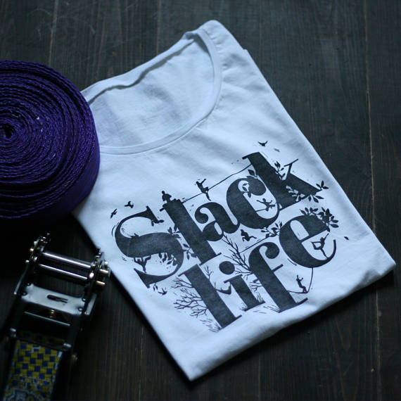 Slackline T-shirt Top - Slacklife