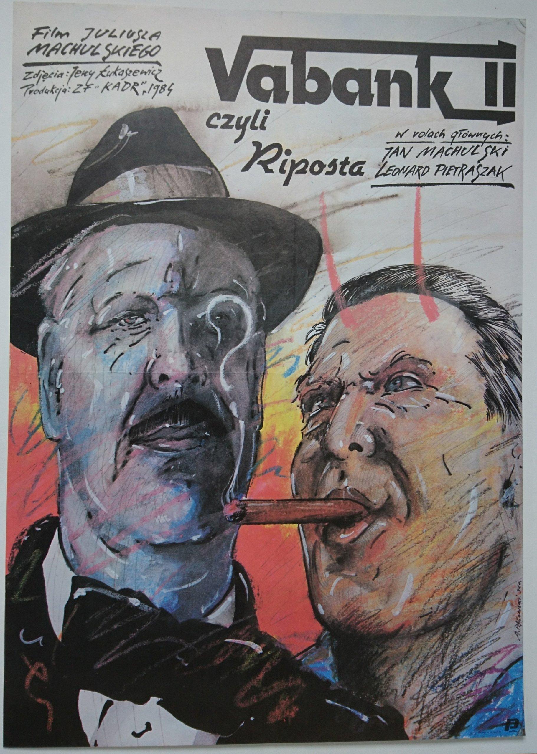 Oryginalny Plakat Filmowy Vabank Ii Pągowski 84