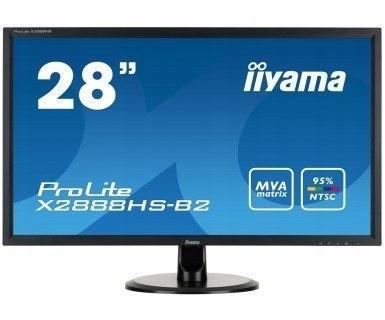 Monitor 28 X2888HS-B2 MVA,FLICKERFREE,SPEAKERS 192