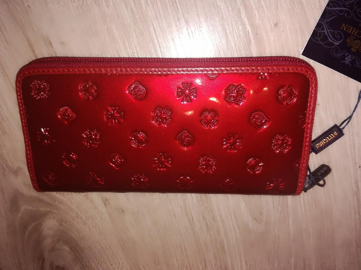 615f5f3adc4bf portfel WITTCHEN Signature czerwony nowy - 7696427581 - oficjalne ...