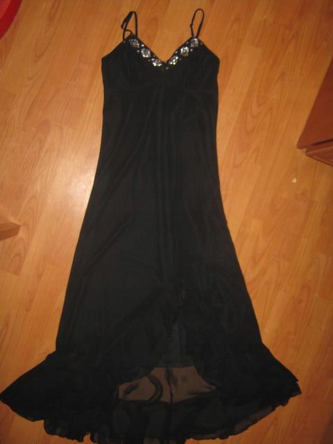 745544de Suknia sukienka 38 cekiny powiewna sylwester