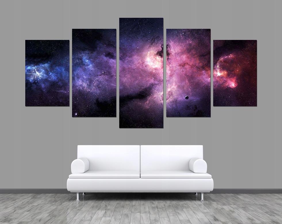 5 X Obraz Star Wars Gwiazdy Kosmos Galaktyka Niebo 7446734523