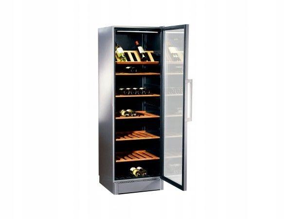 WITRYNA chłodnicza BOSCH KSW 38940 drewniane półki