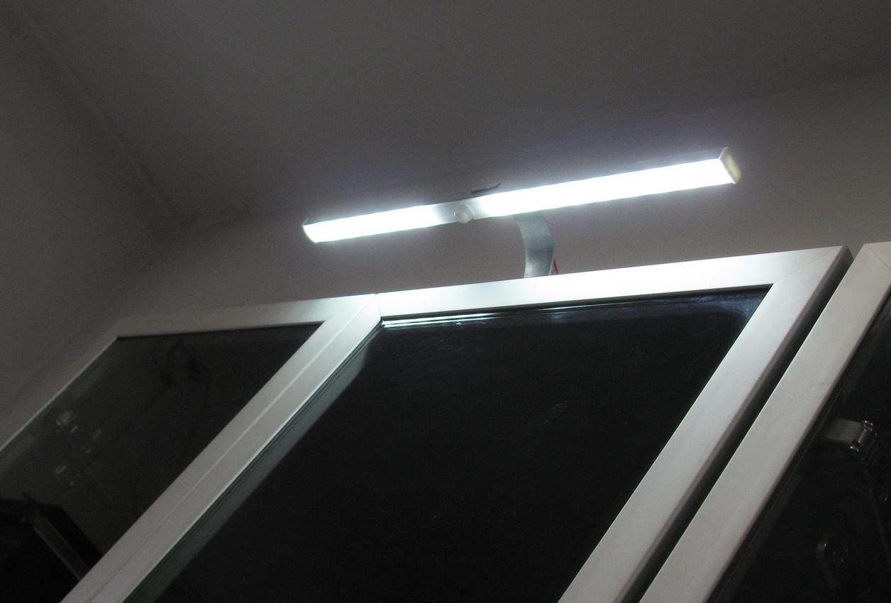 Oświetlenie Led Nadszafkowe Z Czujnikiem Ruchu 7331735385
