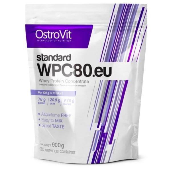 Ostrovit WPC 80.EU 900G Biała czekolada