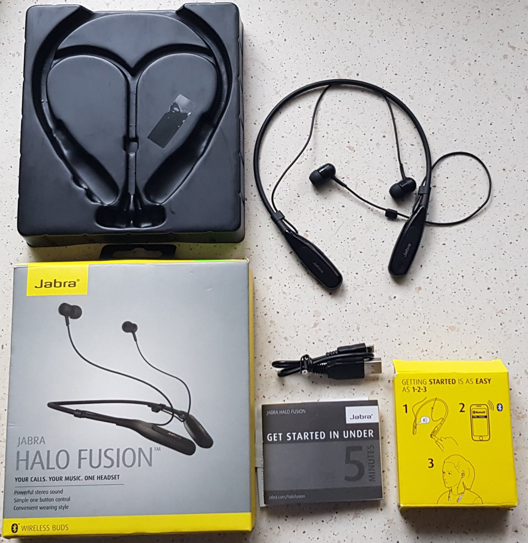 Jabra Halo Fusion Suchawki Wireless Bluetooth 7204099542 Black