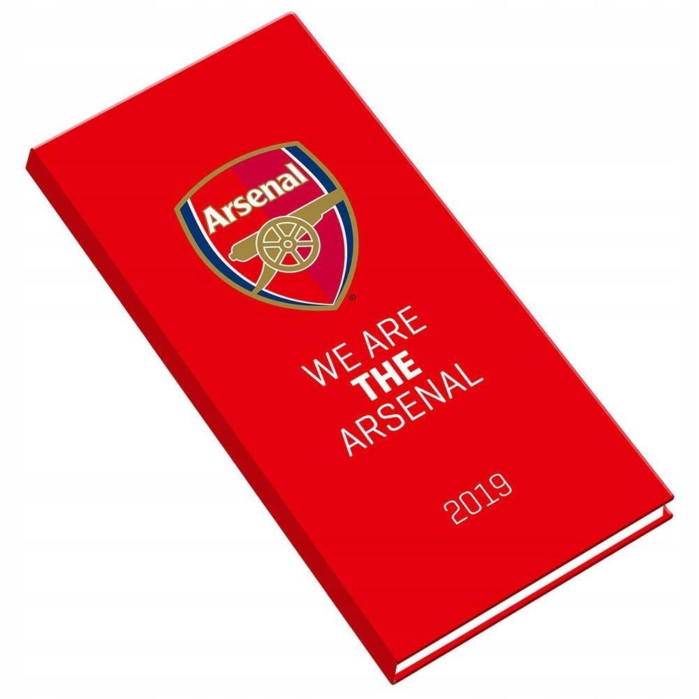 Arsenal Londyn - pamiętnik kieszonkowy 2019!