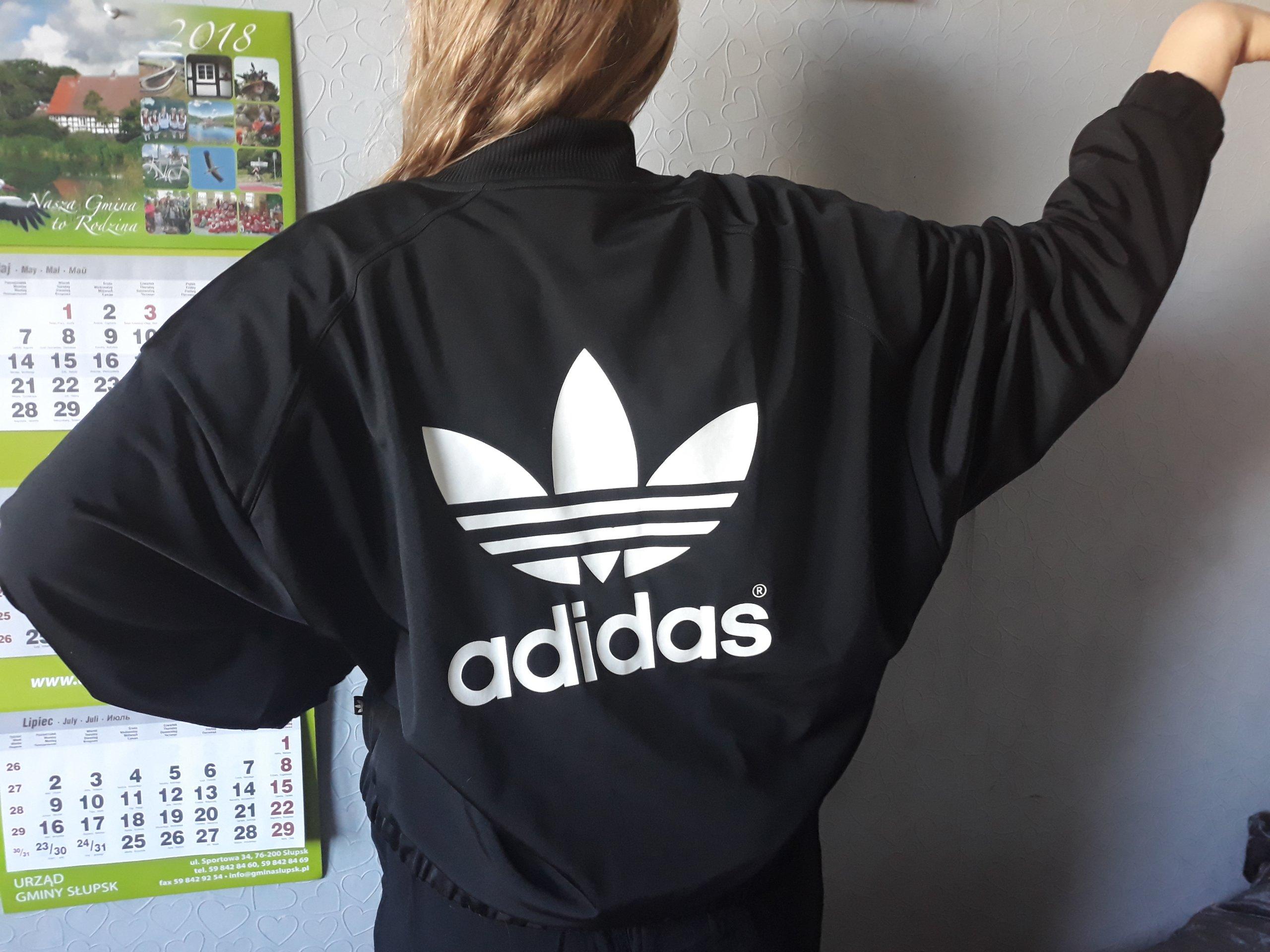 Bomberka kurtka Adidas originals r.46 unikat