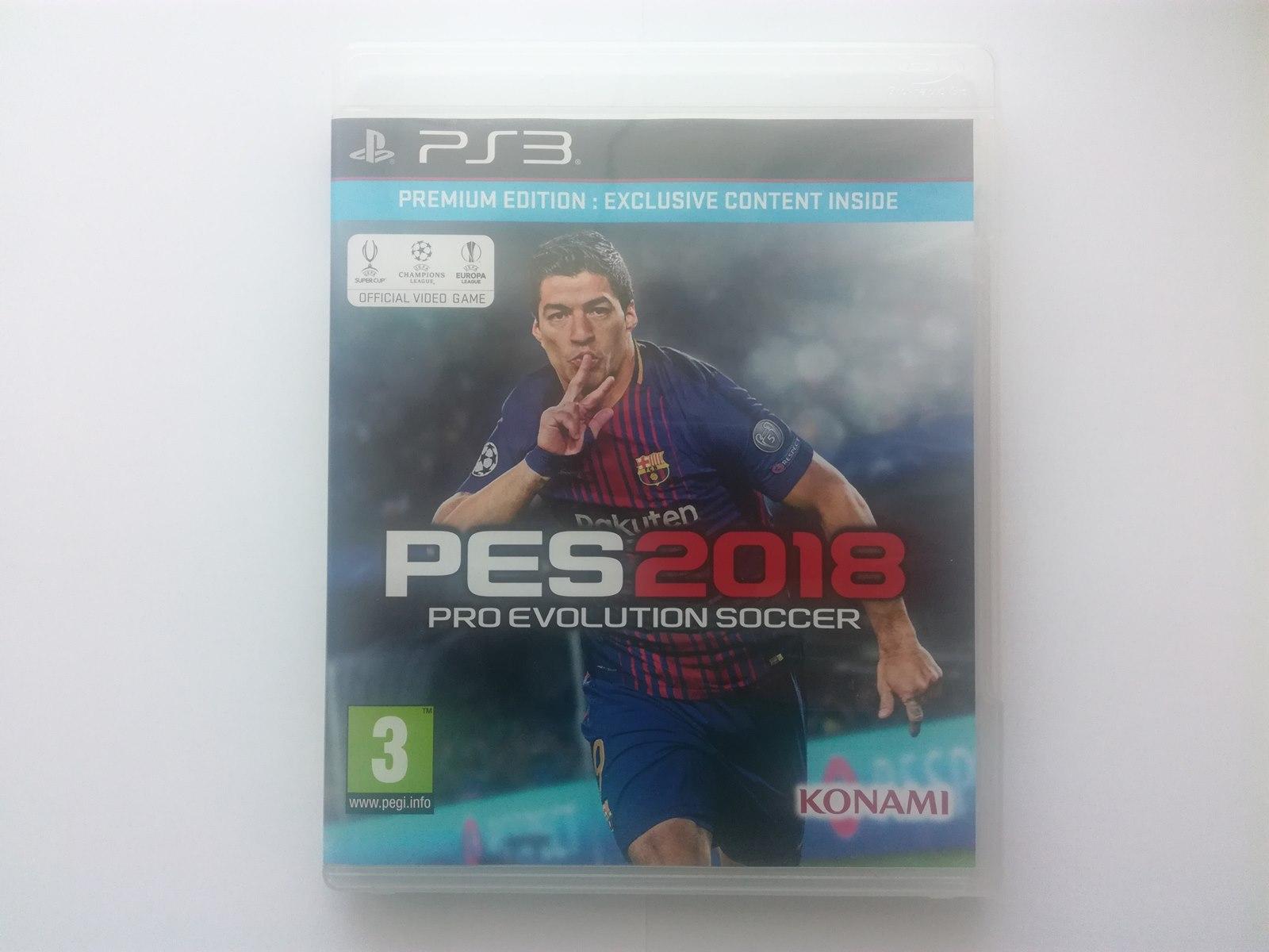 Pro Evolution Soccer 2018 Ps3 Od 1 Z Bcm Zobacz 7370455476 Pc Dvd Rom Pes Premium Edition