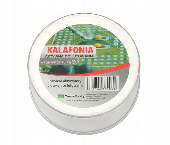 Kalafonia lutownicza 100g AG 1606#