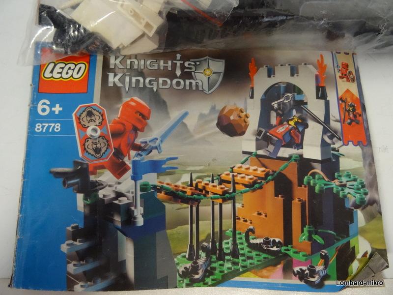 Lego Knights' Kingdom - Zasadzka na granicy 8778