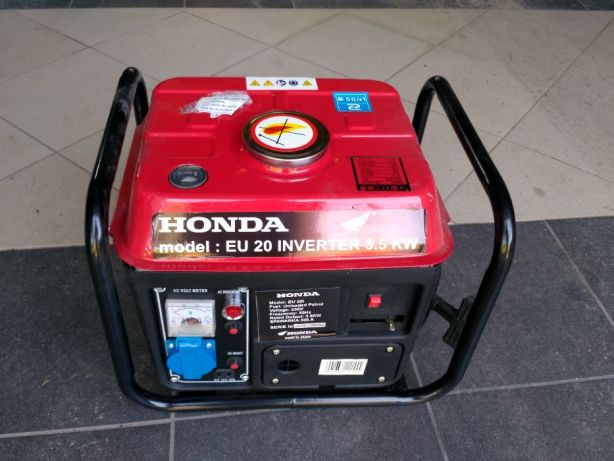 Tylko na zewnątrz Honda Agregat prądotwórczy EU 20i Inverter 3,5KW - 7353404158 DF12