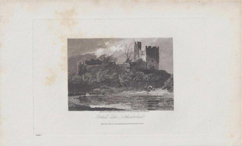 ZAMEK BOTHAL NORTHCUMBERLAND ANGLIA 1815