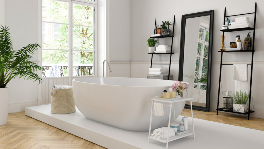 Biela kúpeľňa - ako ju vybaviť tak, aby vyzerala mimoriadne?