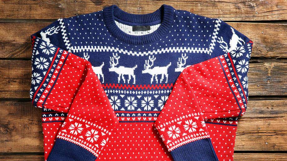 Ciepłe ubranka z norweskimi motywami na świąteczne wieczory