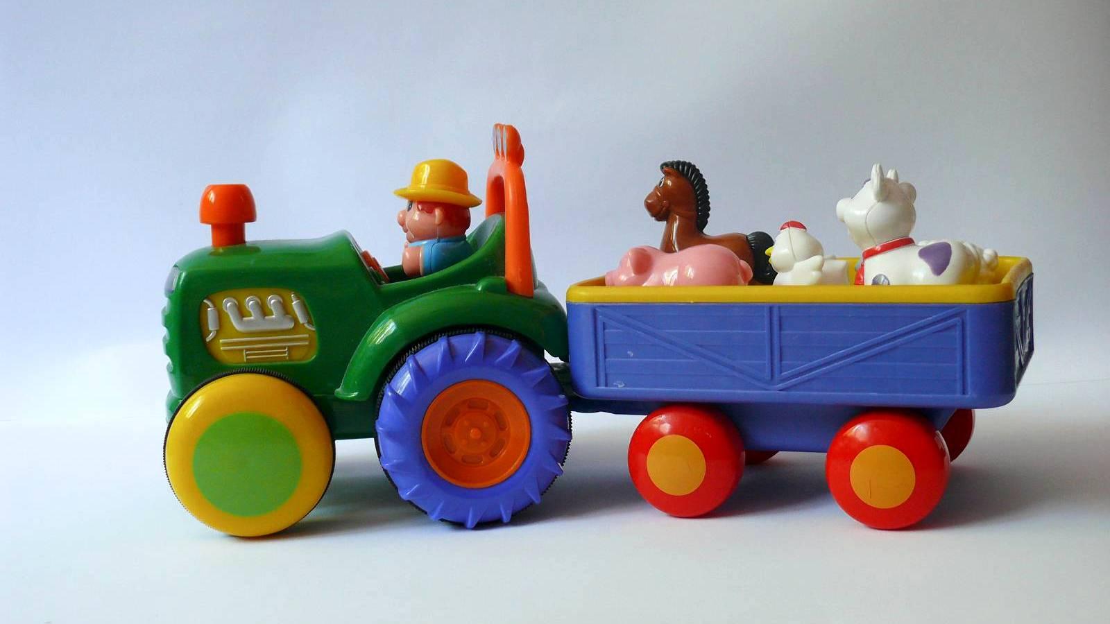 Traktor Farmer – test zabawki