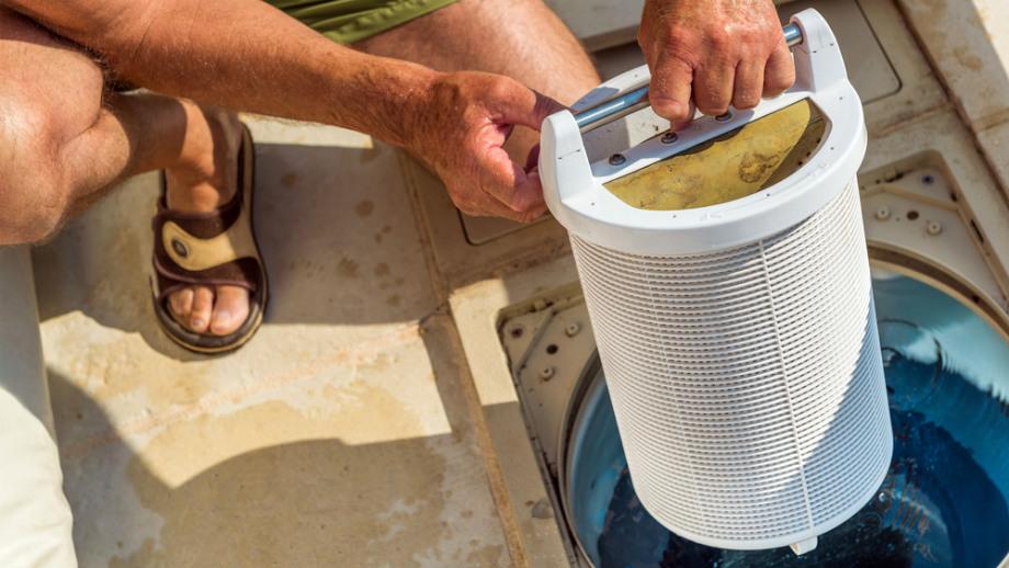 podłączyć filtr piaskowy pompy basenowej