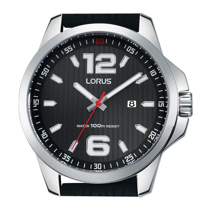 Zegarek męski LORUS LOR RH995EX9 czarny