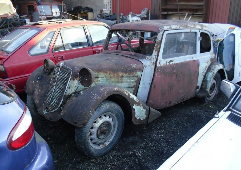 TATRA 57A 1935 do odrestaurowania