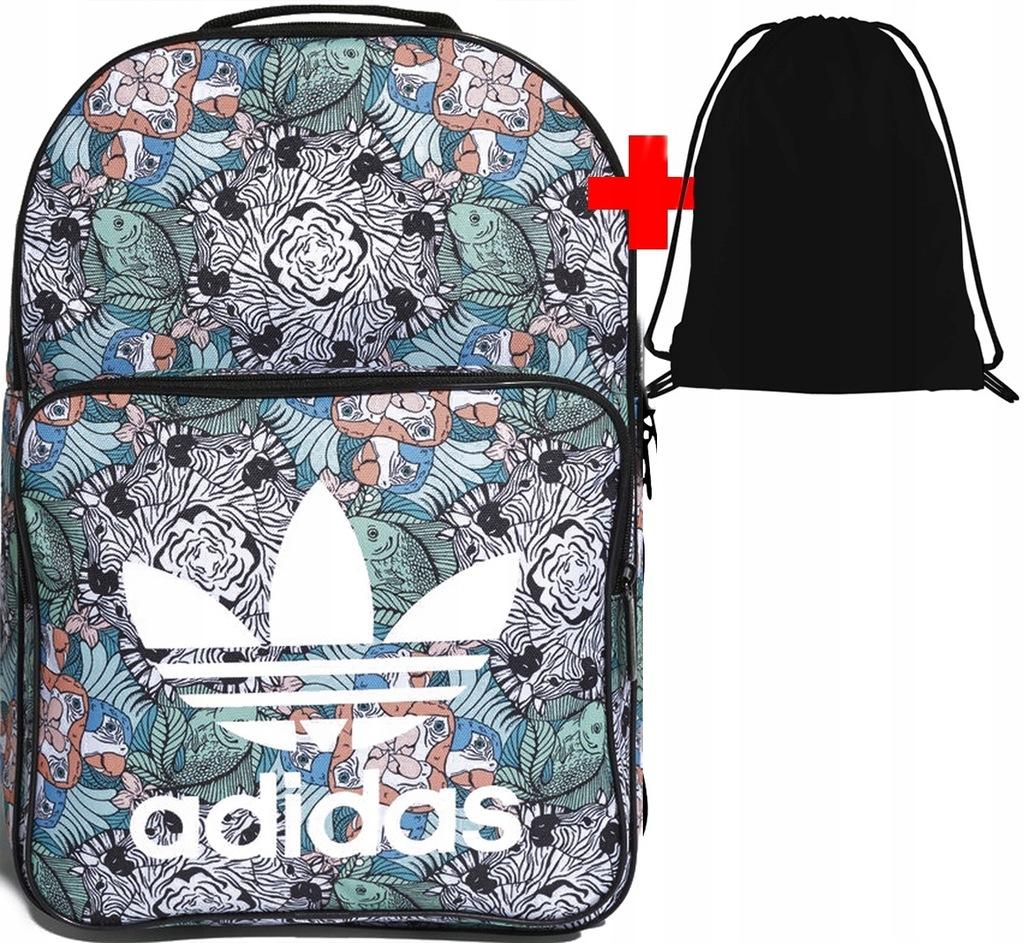 plecak szkolny adidas dh2963 originals kolorowy worek