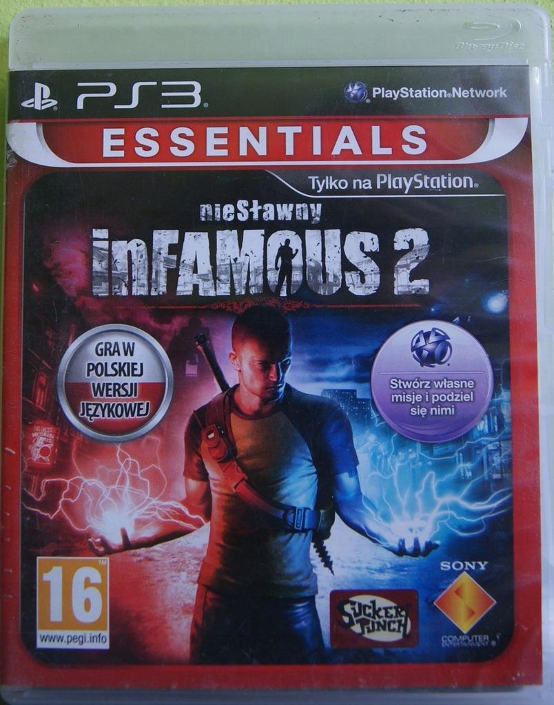 Nieslawny Infamous 2 Pl Playstation 3 7510195412 Oficjalne Archiwum Allegro