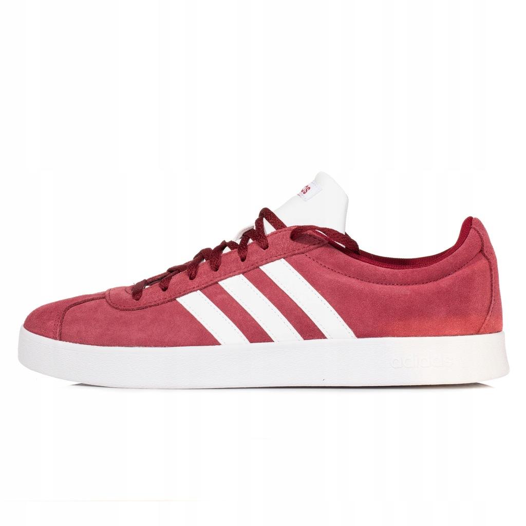Buty męskie adidas VL Court czerwone DA9855