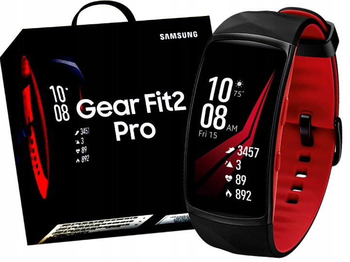 Zegarek Smartwatch Samsung Gear Fit 2 Pro Roz S 7538463609 Oficjalne Archiwum Allegro