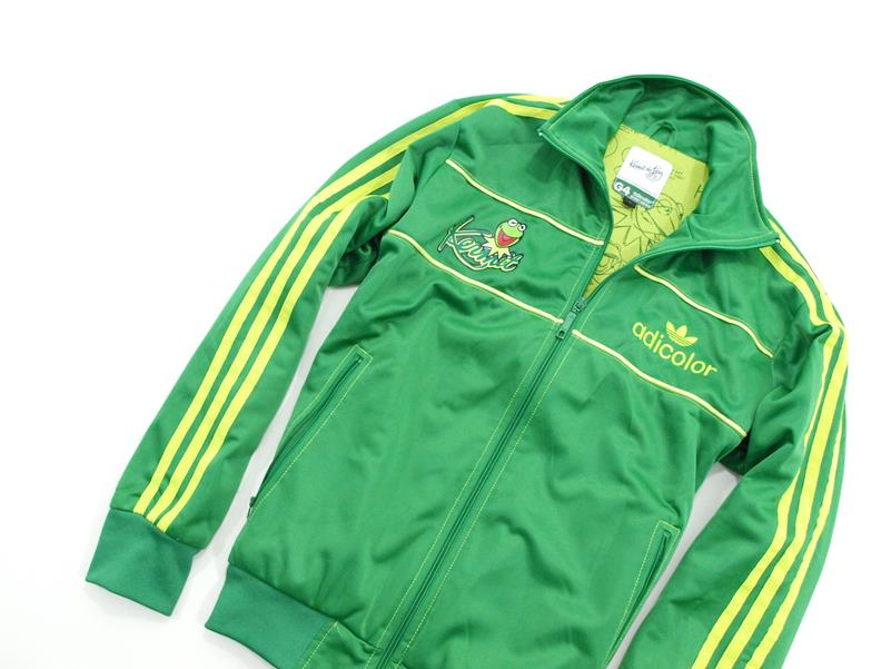 Męska bluza adicolor adidas XL green series Kermit the frog
