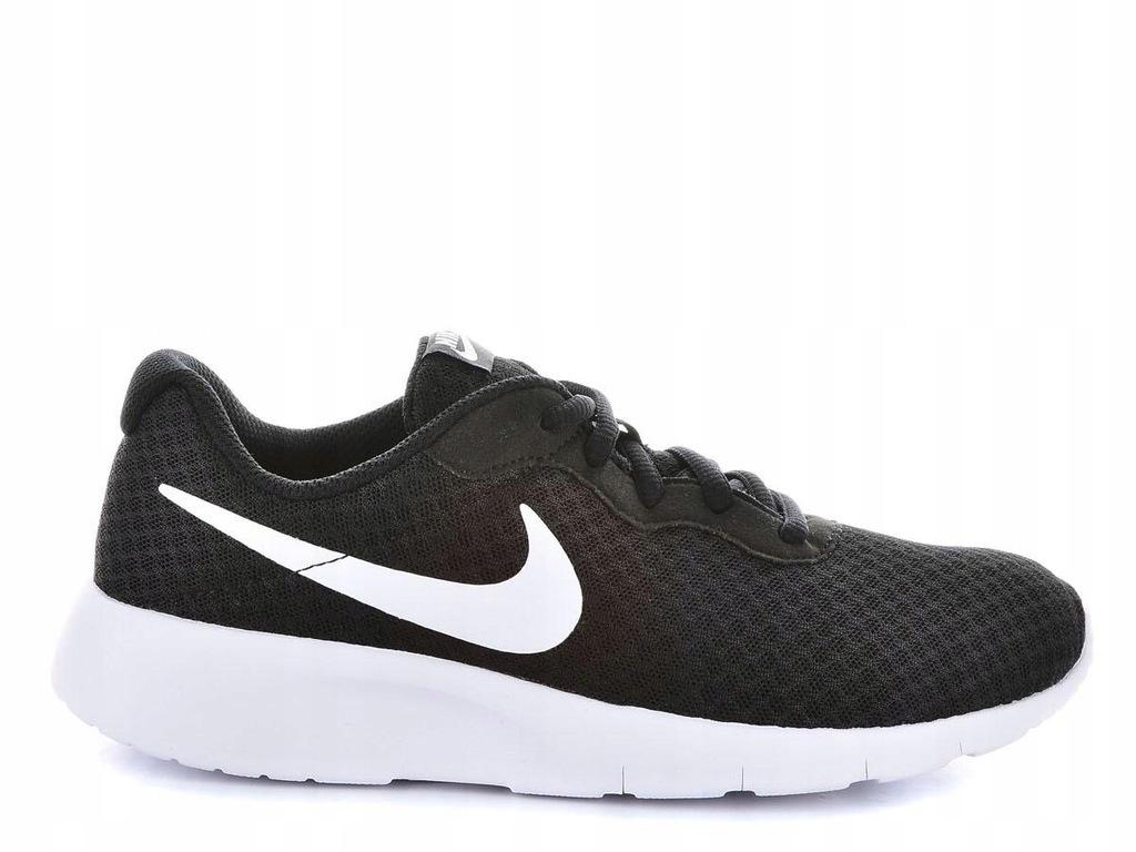 Buty młodzieżowe Tanjun GS Nike (czarne) sklep online