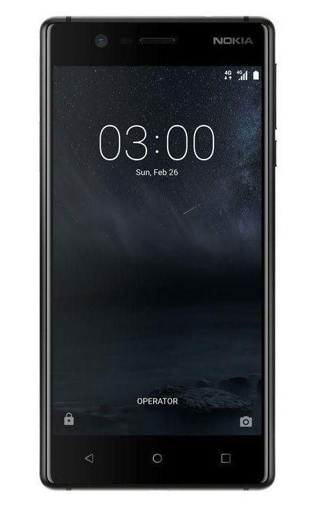 Nokia 3 DS smartfon dual SIM czarny