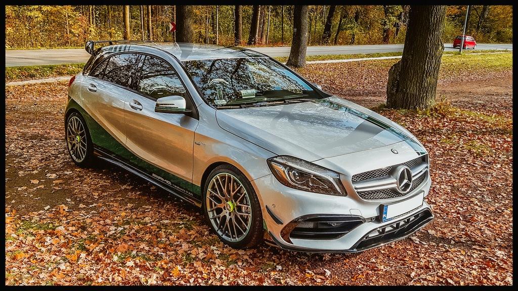 Mercedes Benz Klasa A W176 Amg A 45 World Champion 7657669581 Oficjalne Archiwum Allegro