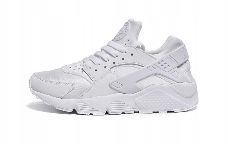 Nike Buty męskie Air Huarache Triple białe r. 44.5