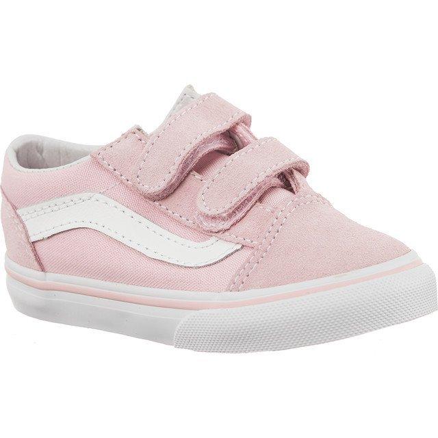 Białe Różowe Buty Dla dzieci Vans r.26 7573957024