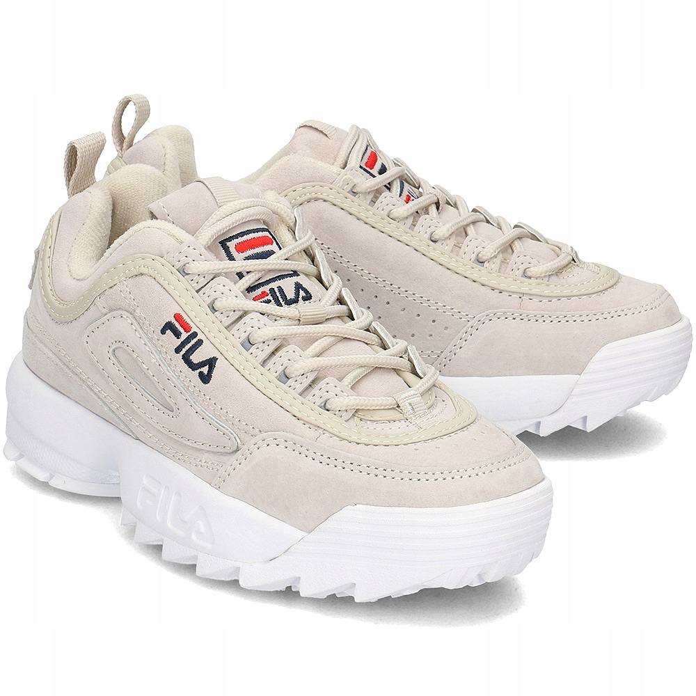 FILA Sneakersy Damskie Beżowe R.38