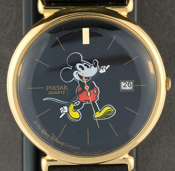 Zegarek Pulsar by Seiko Myszka Miki Disney Mouse