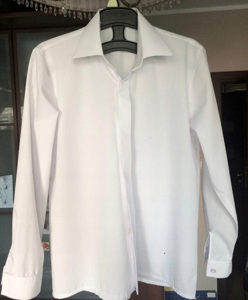 biała koszula rozm. 134/140
