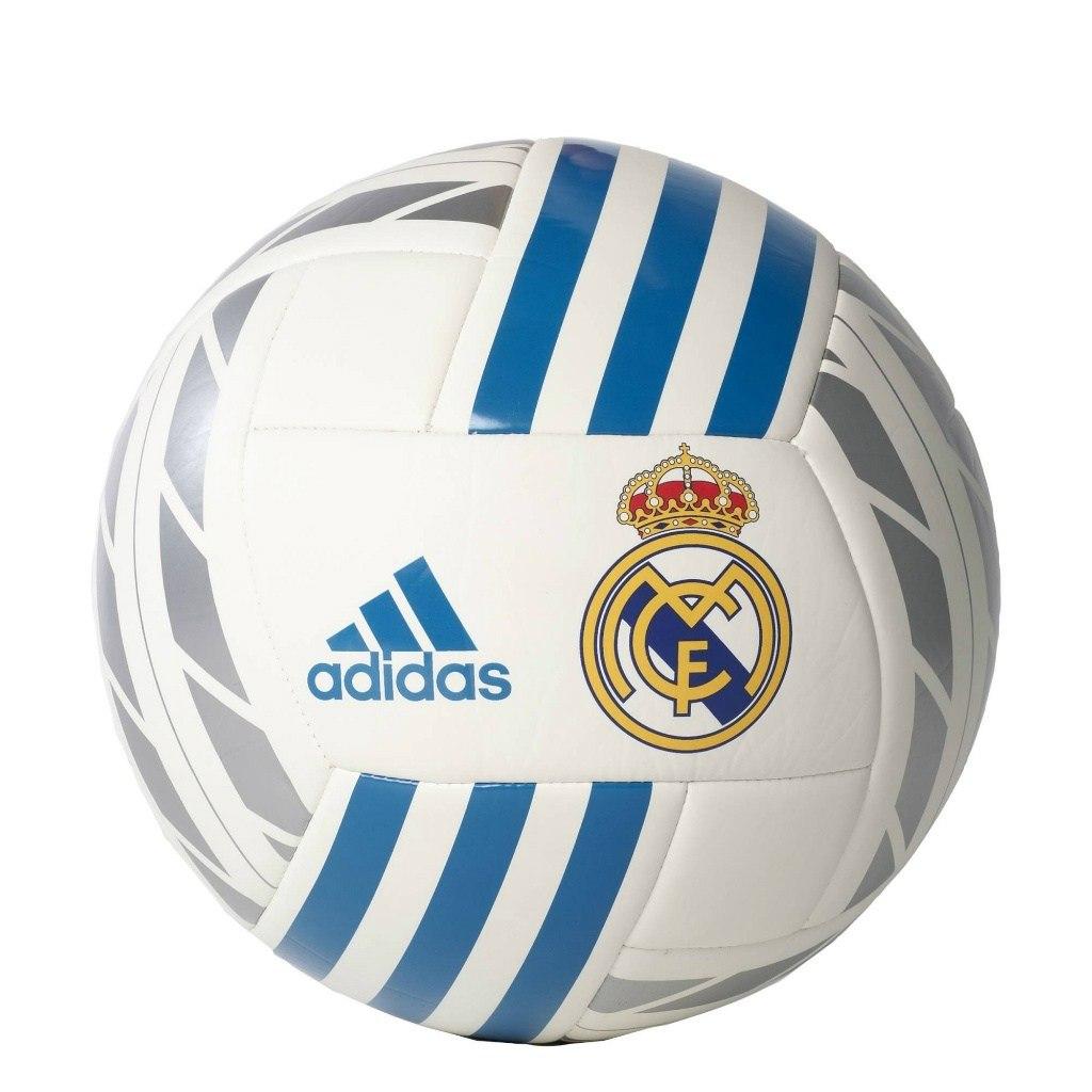 Bluza Real Madryt Adidas rozm XL biało niebieska Zdjęcie