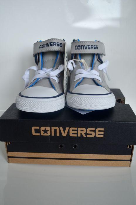 Trampki buty CONVERSE dla Dzieci r 21 SKÓRA NOWE