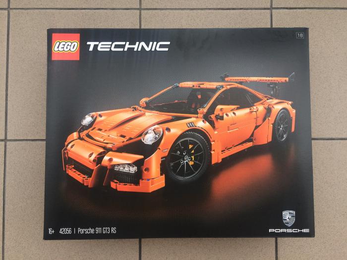 Nowe LEGO Technic Porsche 911 GT3 RS 42056