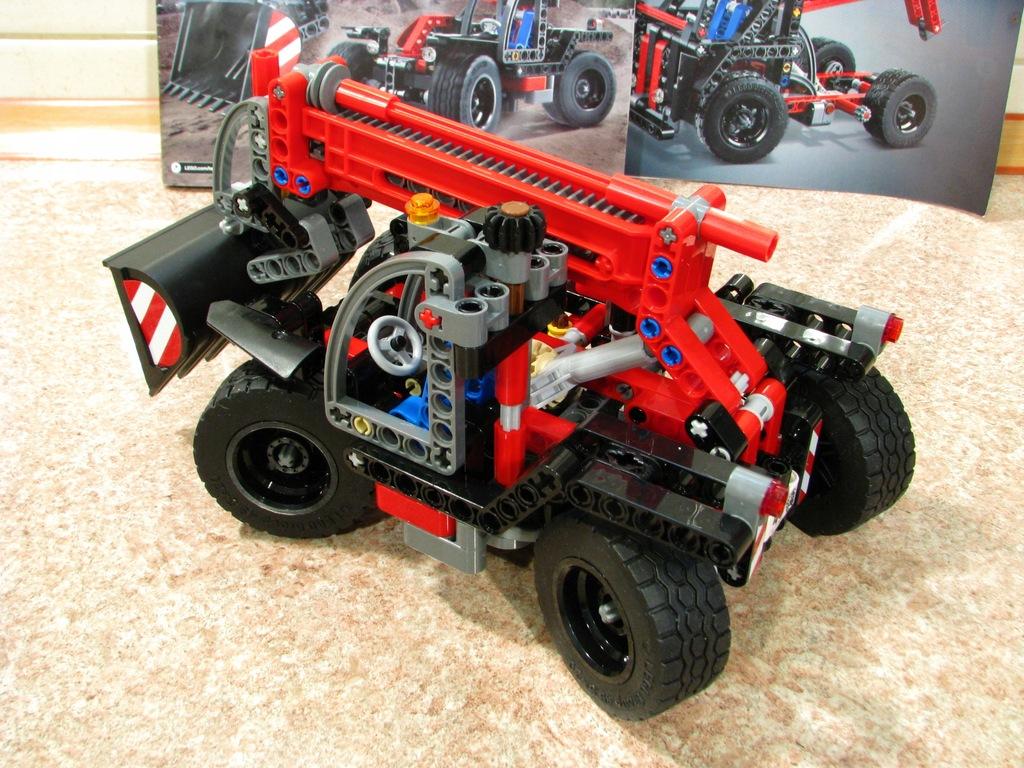 LEGO TECHNIC 42061 AUTO ŁADOWARKA INSTRUKCJA 7461740464