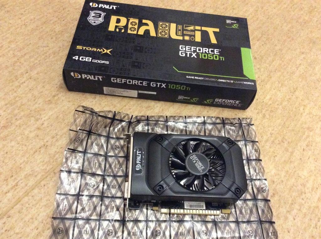PALIT GTX1050ti STORM X 4GB BOX I GWARANCJA