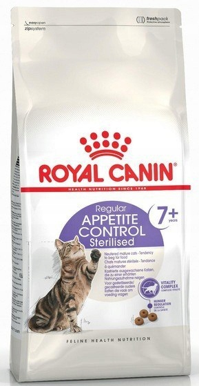 Royal Canin Feline Sterilised +7 Appetite Control