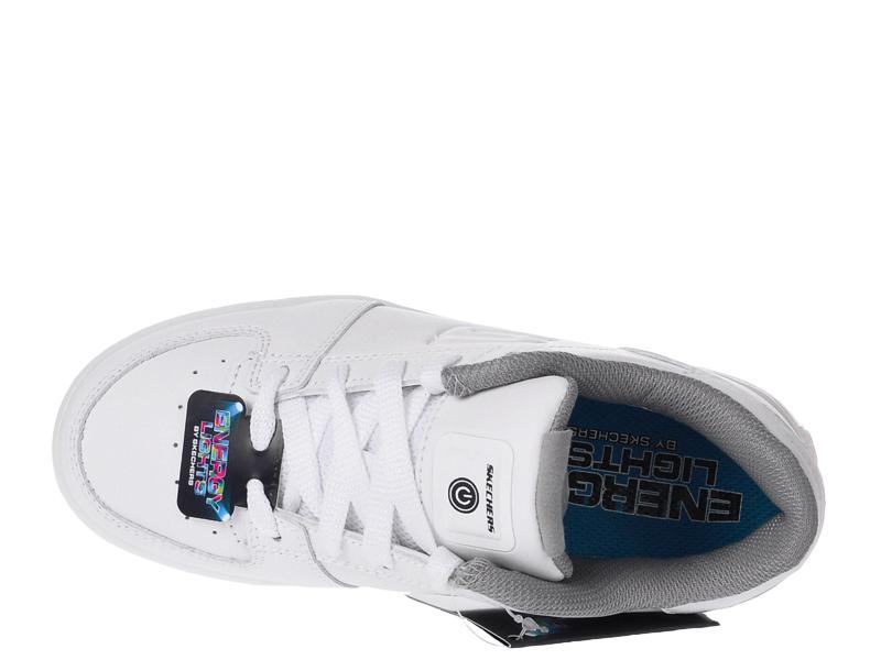 Świecące Buty Dziecięce Skechers 90601LWHT r.39,5