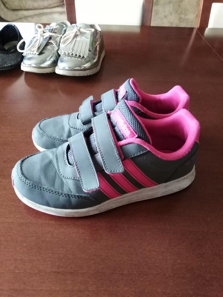 Buty Adidas + półbuty Zara + Baletki 33